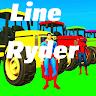 LINE RYDER 3D - FREE game apk icon