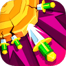 Wonder Knife Hit Challenge game apk icon