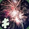 Amazing Fireworks Jigsaw Puzzle Game game apk icon