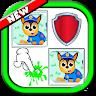 Pups Patrol - Jogo da Memoria game apk icon