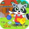 Cleaning house game apk icon