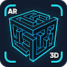 CubeAR: 3D & AR Labyrinths & Maze game apk icon