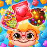 New Sweet Candy Story: Puzzle Master game apk icon