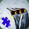 Antarctic Penguin Jigsaw Puzzle Game game apk icon