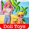 Play With Doll Toys Videos app apk icon
