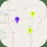 Benin Offline Map app apk icon