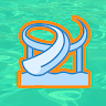 Aquapark Slide Race: fun 3d water runner game apk icon