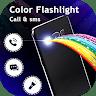Color Flashlight : Brightest Flash on Call & SMS app apk icon