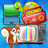 Music Player For Kids - Numbers Animals and Fruits app apk icon