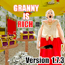 Scary Rich Granny Horror House Game 2019 game apk icon