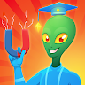 Magnetic Puzzle - Alien IQ Test game apk icon