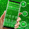 telecharger Green Glitter Sparkling Theme apk