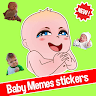 👶 Cute baby memes stickers - New WAStickerApps app apk icon