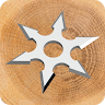 Ninja Shuriken! game apk icon