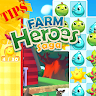 Tricks farm heroes saga app apk icon