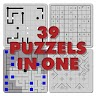 39 Puzzles in 1: Impossible puzzle game apk icon