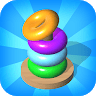 Hoops Color Sort - Color Stack Puzzle Free Games Game icon
