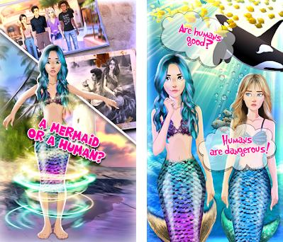 Mermaid Choices Love Story preview screenshot