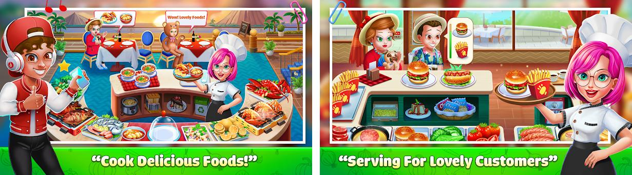 Cooking Chef - Craze Fast Restaurant Cooking Games preview screenshot