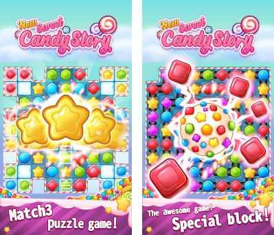 New Sweet Candy Story: Puzzle Master preview screenshot