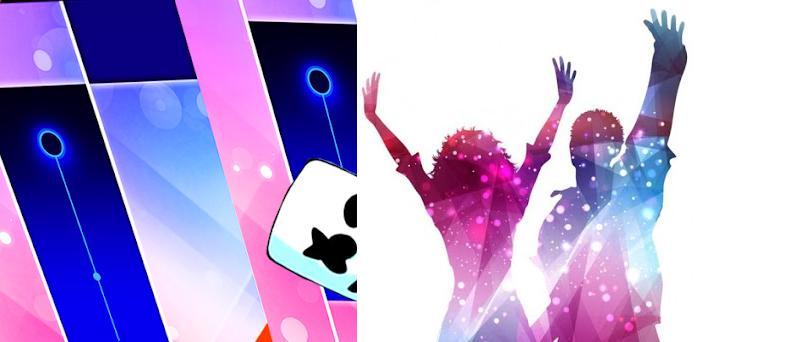 Piano Tiles: Marshmello Dance Music preview screenshot