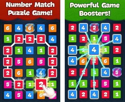 Number Match Puzzle Game - Number Matching Games Capturas de pantalla