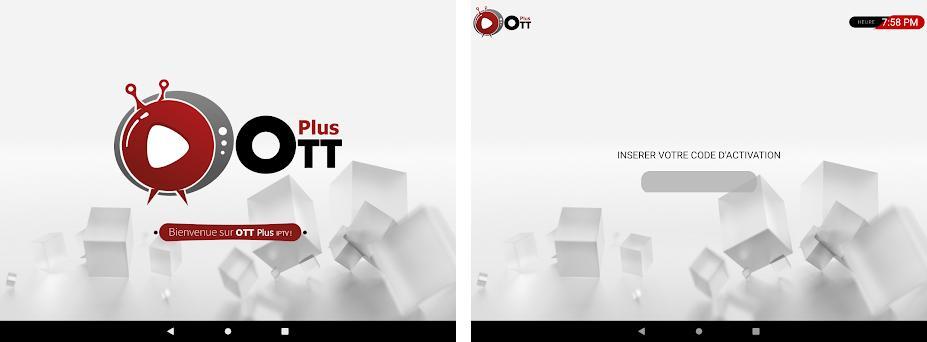 OTT Plus IPTV Capturas de pantalla