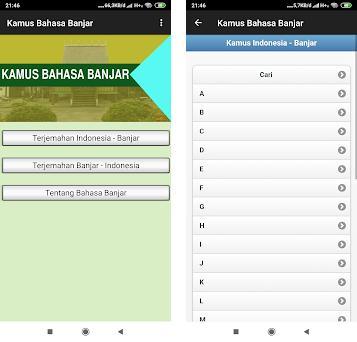Kamus Bahasa Banjar Offline preview screenshot