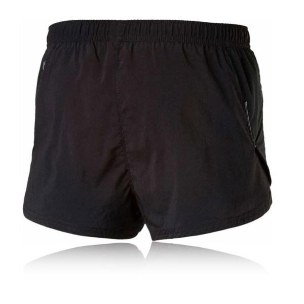Puma Core-run Split Mens Black Fitness Running Shorts