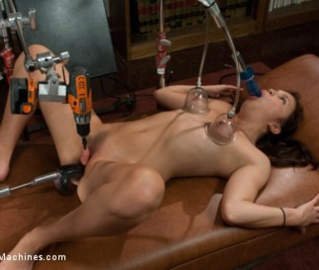 Photo Number Yr Old First Porn Mechanical Shagging Overload That Makes Her Squirt