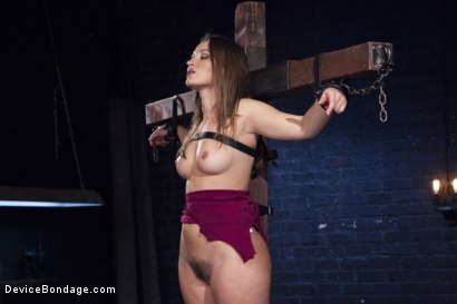 Photo Number 3 From Dani Daniels Tears For Fears Shot For Device Bondage On Kink