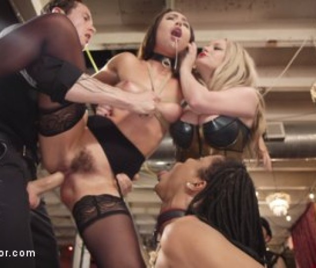 Photo Number  From The Upper Floor Returns With A Squirting Slave Fuck Fest Shot For