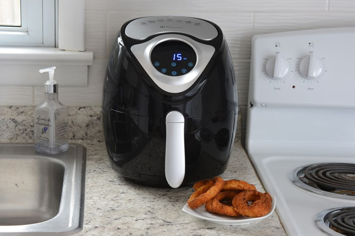 3.7QT Digital Programmable Touch Screen Air Fryer, on sale for $69.97 (58% off)