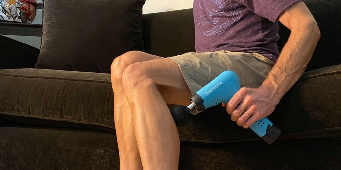The Backmate Power Massager, on sale for $95 when you use coupon code BFSAVE20 at checkout