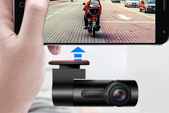 Car Dashcam with Wi-Fi & App, on sale for $30.97 (74% off)