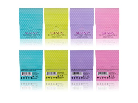 SHANY Makeup Blotting Papers: 4 Packs of 100 Oil Absorbing Paper Sheets for Face - 400 Sheets for $9 2