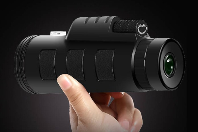 High Definition Monocular Telescope, on sale for $34.97 (36% off)