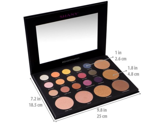 SHANY Revival Palette - 21-Color Eye & Cheek Palette with 15 Matte and Shimmer Eyeshadows, 3 Bronzers and 3 Highlighters - ORIGINAL for $24 4