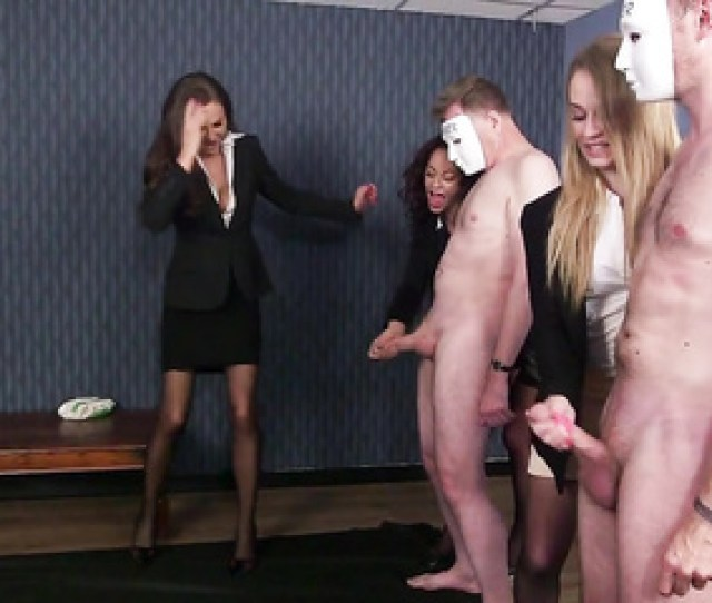 Cfnm Office Handjob