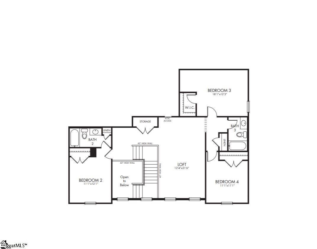 321 Lindstrom, Simpsonville, SC 29680 MLS #1401983