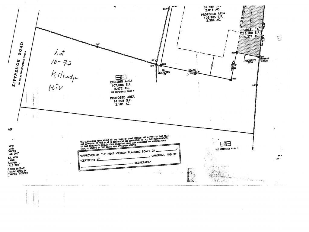 72 Kittredge Mont Vernon NH 03057 in Hillsborough county