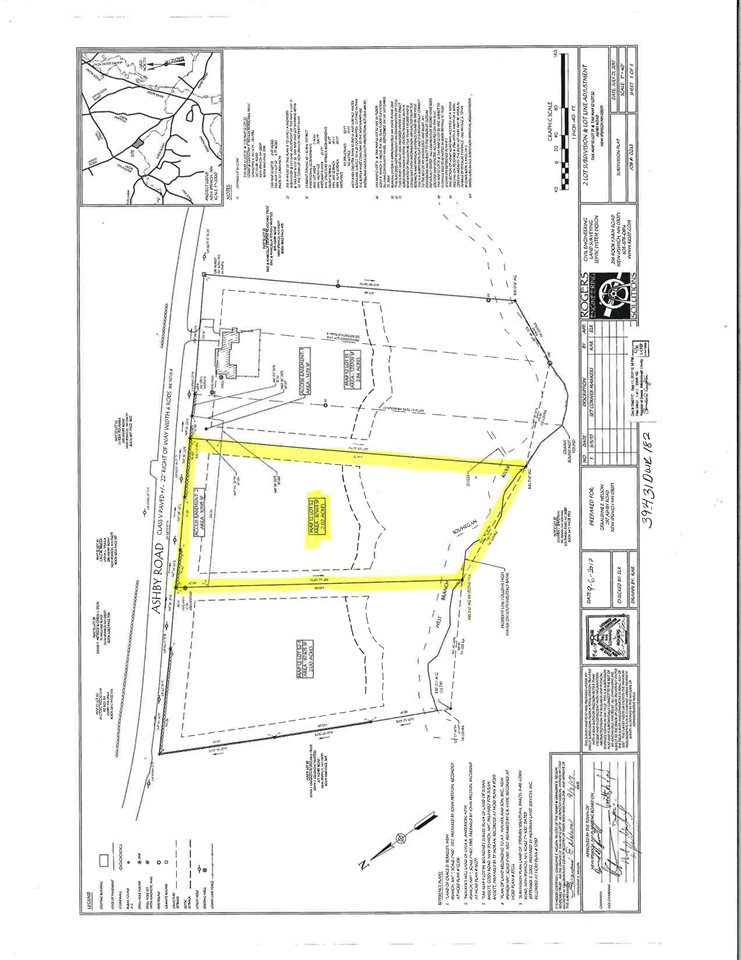 Map 12 Lot 52 Ashby Road New Ipswich NH 03071 in