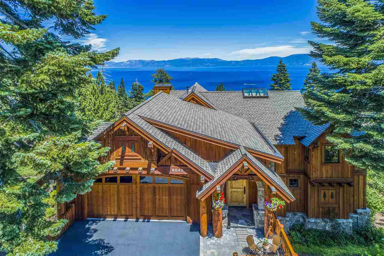 Spacious, open-concept design with 4,107 sf of extraordinary detail and  workmanship. This luxurious lodge-style retreat overlooks the pristine turquoise waters of Rubicon Bay with panoramic lake views. Forest service land below allows for unobstructed scenery. Features 4 bedrooms (including 2 master suites), 3.5 baths with natural stone, 2-car garage and a bonus 700+- square foot recreation room with separate entry. Please follow: http://www.tahoemls.com/wp-content/uploads/2020/05/Pictogram-2-Page.pdf