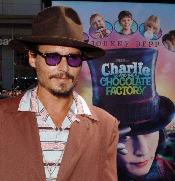Johnny Depp Star Of 'pirates Caribbean '