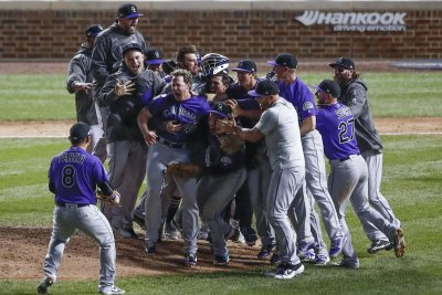 Colorado Rockies beat Chicago Cubs in 13th to advance to NLDS Rockies beat Cubs in 13th to advance to NLDS