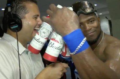 Watch: Dodgers' Yasier Puig guarantees World Series win Yasiel Puig guarantees Dodgers will win World Series