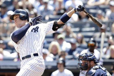 2017 MLB Midseason Awards New York Yankees OF Aaron Judge Leading