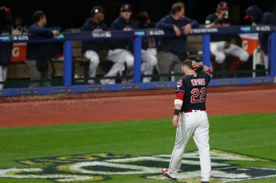 Gregorius Homers Twice Yankees Knockout Indians In ALDS UPI Com