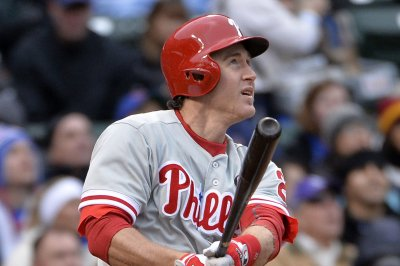 Phillies Top Toronto In Chase Utley's Farewell UPI Com
