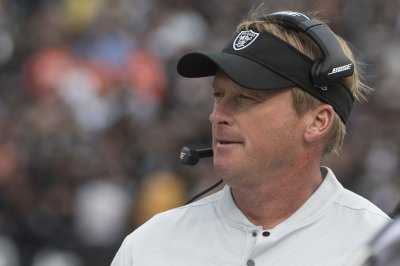 Gruden 'a little depressed' by his Raiders Gruden a little depressed by his Raiders
